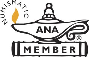 American Numismatic Association Member Logo