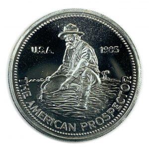 1985 Engelhard American Prospector - Obverse