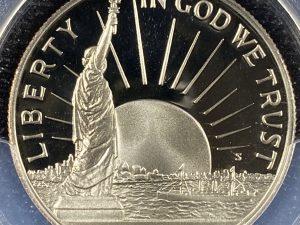 1986-S 50C PCGS PR69DCAM Statue Of Liberty Commemorative