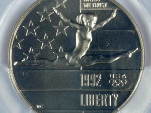 1992-P 50C PCGS MS69 Olympic Commemorative