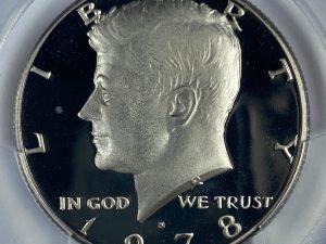 1978-S 50C PCGS PR68DCAM Proof Kennedy Half Dollar