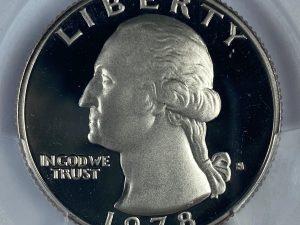 1978-S 25C PCGS PR69DCAM Proof Washington Quarter