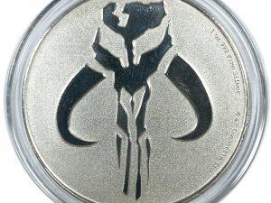 2020 Niue Star Wars Mandalorian Mythosaur 1oz .999 Silver Coin in Case