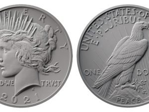 2021 Peace Dollar Design