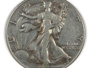 1946 50C Walking Liberty Half Dollar
