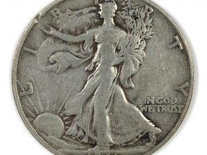 1946-S 50C Walking Liberty Half Dollar