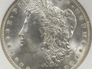 1885-O $1 Morgan Silver Dollar NGC MS64 Great Montana Collection