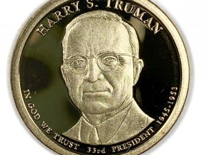 2015-S $1 Harry S. Truman Presidential Dollar