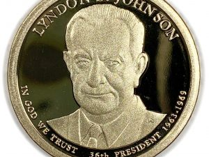 2015-S $1 Lyndon B. Johnson Presidential Dollar