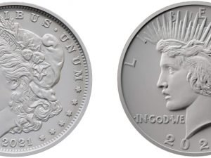 2021 Morgan Peace Silver Dollars