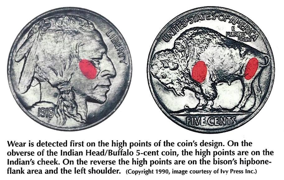 Grading Buffalo Nickels
